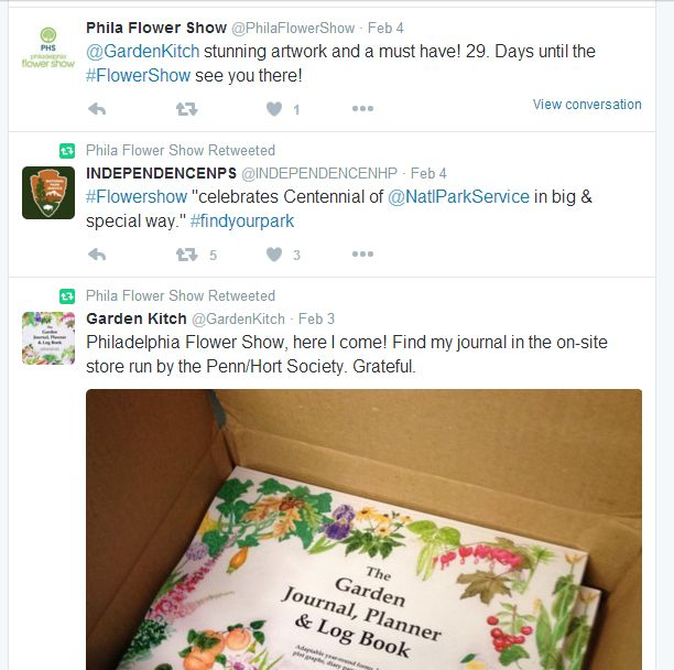 phil flower show tweets
